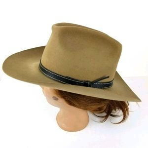 Stetson Greeley Hat Vintage Felt western Cowboy